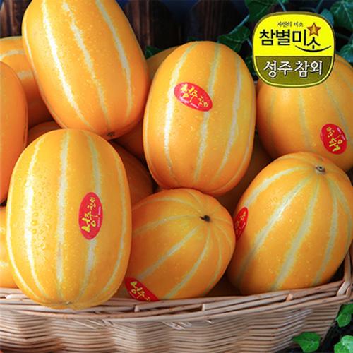 ★특가★[참별미소] 달콤한 향내풍기는 성주참외 2kg/4~7과(대과)