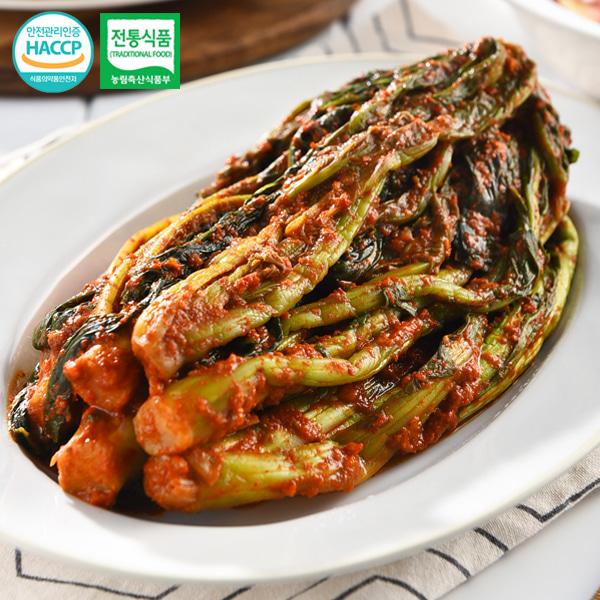 [전통식품인증] 여수 숙성 돌산갓김치 2kg