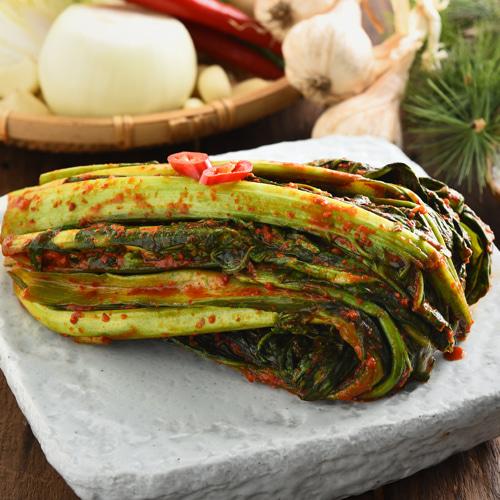 ★특가★[전통식품인증] 여수 돌산 갓김치 2kg