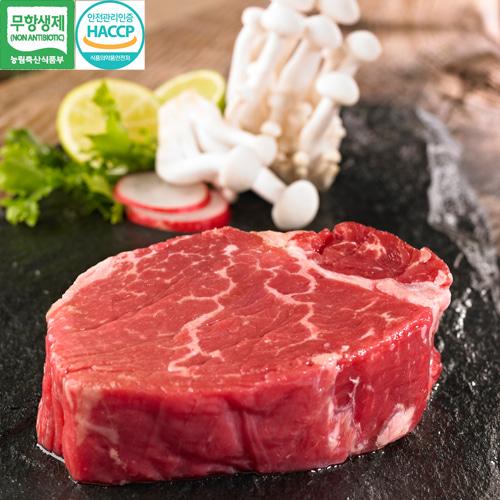 [안심한牛] 무항생제 한우 안심 400g(1등급이상)