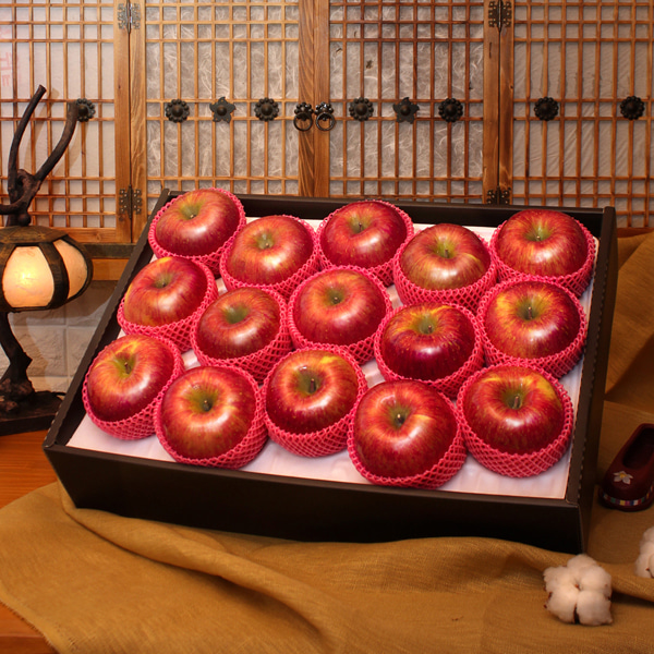 [시골농부] 고냉지 사과 세트 5kg/15~16과이식사