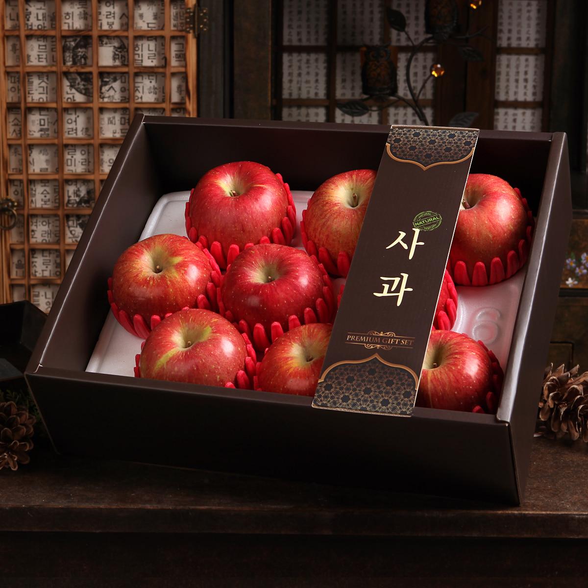 [시골농부] 프리미엄 사과 선물세트 3kg/9과이식사