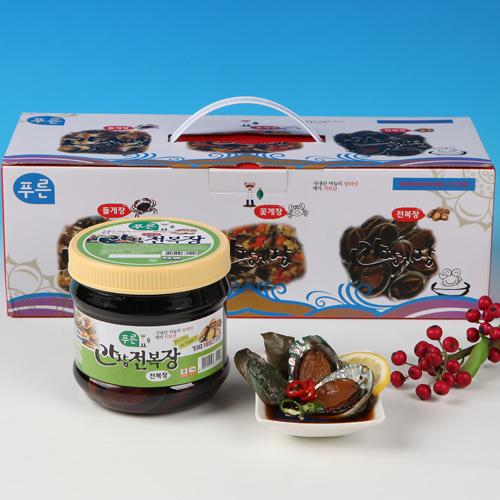 [동의비첩] 깔끔한 참맛 간장 전복장 선물세트이식사