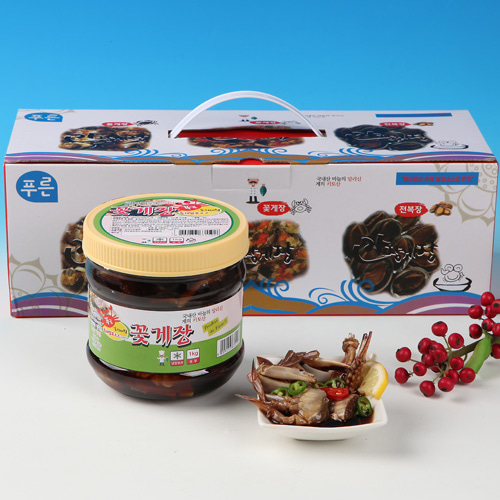 [동의비첩] 깔끔한 참맛 간장 꽂게장 선물세트이식사