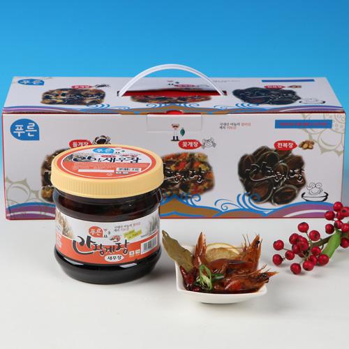 [동의비첩] 깔끔한 참맛 간장 새우장 선물세트이식사