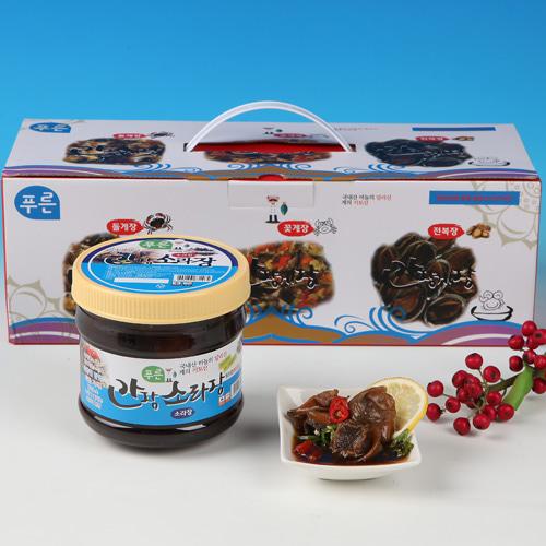 [동의비첩] 깔끔한 참맛 간장 소라장 선물세트이식사
