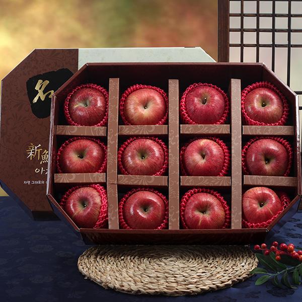 [명품팔각] 사과 VIP 세트/4.8kg(12과)이식사