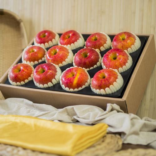 [행복한농부] 사과 선물세트 4.5kg/12과(특)x2박스이식사