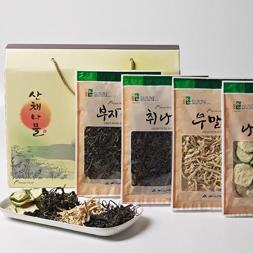 [자연담은] 햇살가득 산채나물 4종 2호이식사